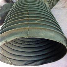 300口径帆布粉尘输送伸缩布袋厂家报价