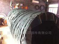 方形风机排风管耐高温伸缩软连接