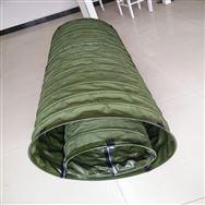 军绿色帆布软连接供应