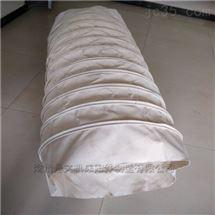 300口径粉尘耐磨输送伸缩布袋厂家供应价
