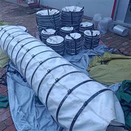 机械除尘专用耐磨帆布伸缩布袋厂家