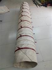 扁钢式吊环水泥下料伸缩帆布布袋