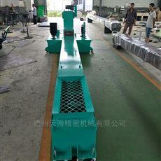 定制加工反冲式刮板滚筒排屑机