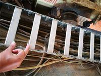 工程机床钢制线缆拖链厂家