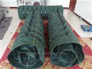 水泥厂直径600干灰散装机伸缩帆布袋