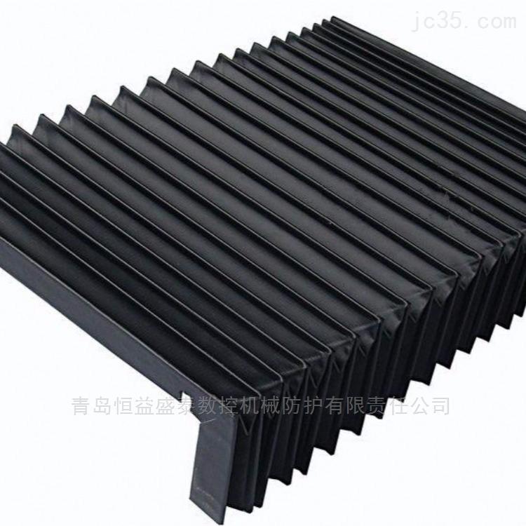 黑色耐高温风琴防护罩厂家