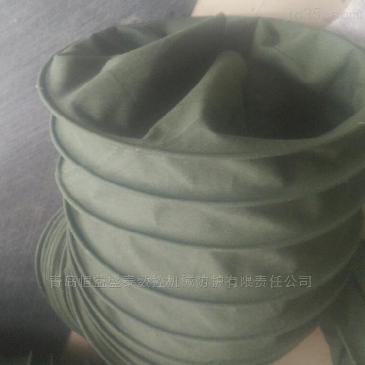 水泥输送伸缩布袋伸缩自如安装方便