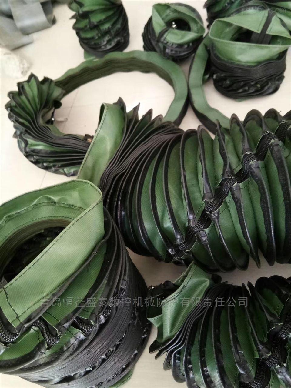 缝制粘锁式防尘罩-魔术贴式防护罩