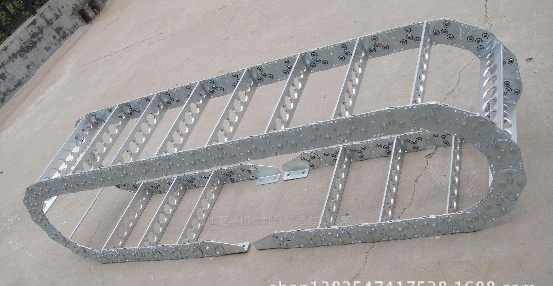 淮北机床钢铝拖链定做厂家