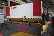 160吨4.1米扭�轴同步数控液压折弯机钣金加工