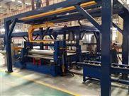 上辊万能卷板机自动化生产线