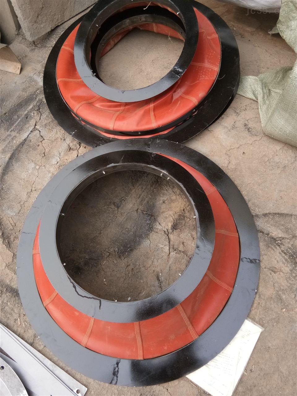 自定-钢丝圈支撑三防布软连接