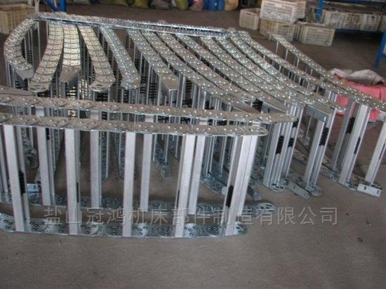 杭州油管框架式钢制拖链