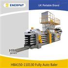 HBA150-110130全自动废纸压包机 塑料薄膜液压打包机