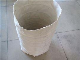 自定环保卸料口水泥输送白色帆布筒