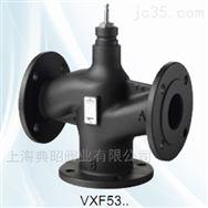 VXF53西门子SIEMENS三通法兰调节阀