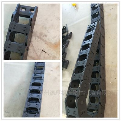 25*35交叉带自动化分拣机专用穿线尼龙拖链