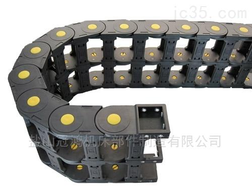 潍坊雕刻机桥式穿线电缆拖链