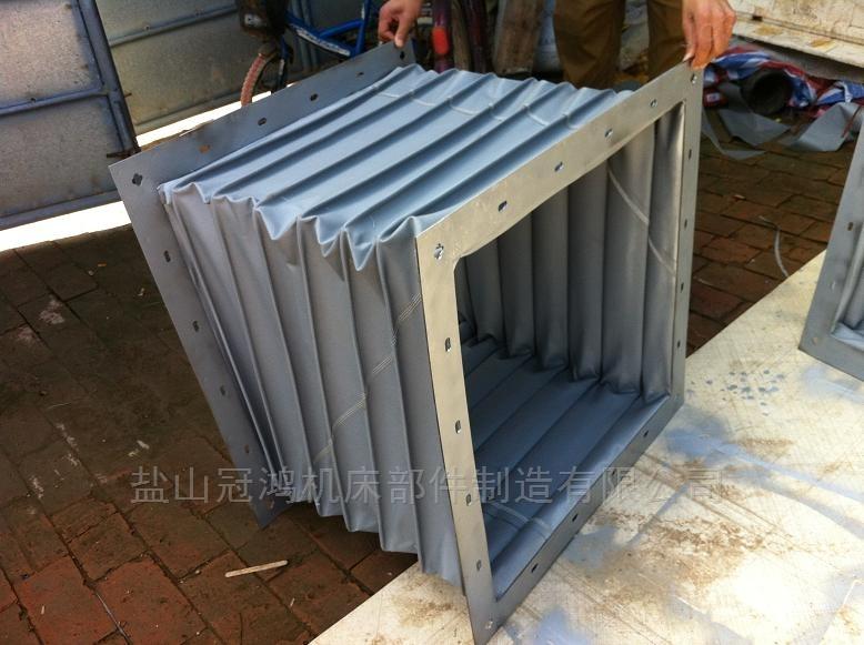 耐高温硅胶布伸缩软连接风管厂家