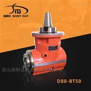 国产重型直角角度头加工中心BT50侧铣头厂家