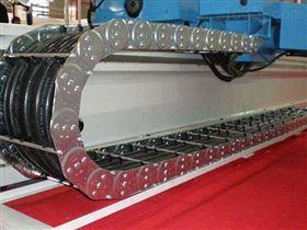 TL125卸卷小车运行钢制拖链