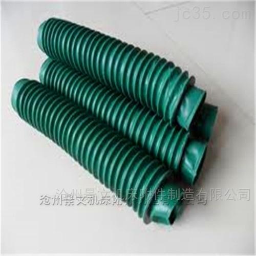 绿色三防布丝杠耐温防尘罩河北厂家低价