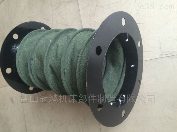 机床抗压圆形伸缩防尘罩