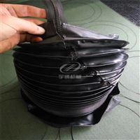 订做厂家直销订做防尘防油圆形丝杠伸缩防尘罩