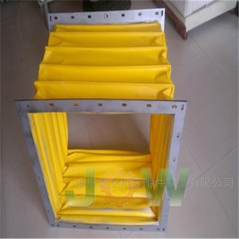 200*350印刷设备配套耐温伸缩软连接定做