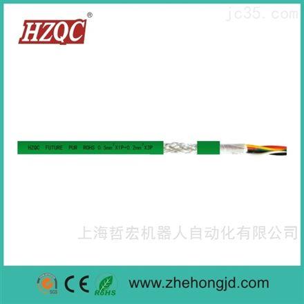 耐磨抗油聚氨酯电缆