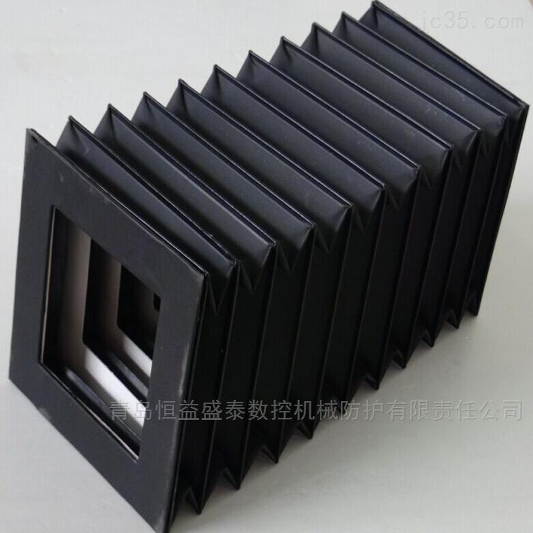 圆型方型八角型等各形状风琴式护罩生产厂家