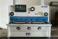 QC11Y-16X1600小型液压闸式剪板机