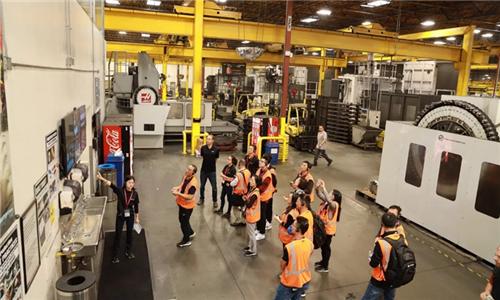 2019美国哈斯工厂开放日第2天 我找到了哈斯成功的其中一个重要原因!