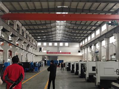 中国机床工具工业协会车床分会一行走进开兰重工