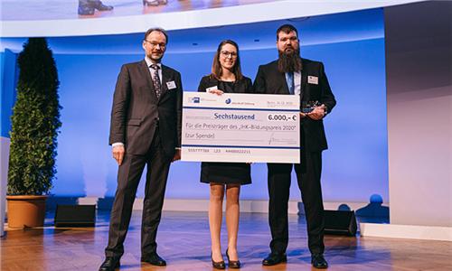 SCHUNK获得了国家认证的IHK教育奖2020