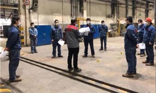 重庆ABB抓好防疫和复工复产工作