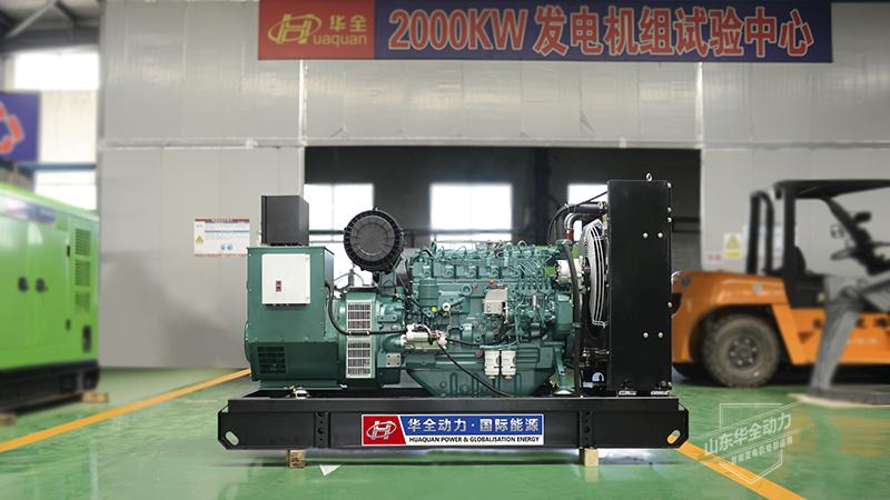 100千瓦潍柴发电机的排气颜色与故障分析