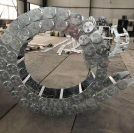 钢厂钢制拖链