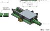 台湾翰坤hardy专用组合机床液压滑台拖板